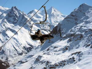 zinal chairlift