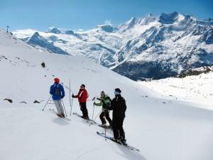 SKGB Ski Leader in Saas-Grund