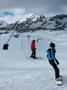 Sun and ski