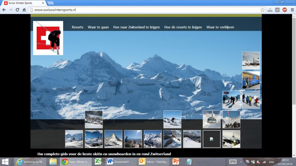 ski en snowboard website