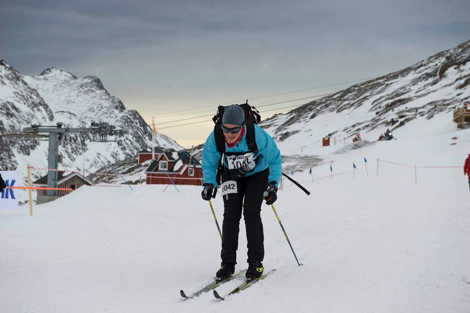 Cross country skiing in the Arctic Challenge