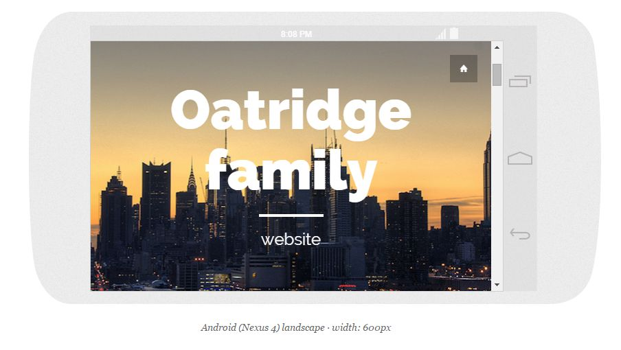 Oatridge home page
