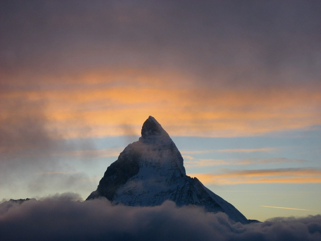 Zermatt in the evening