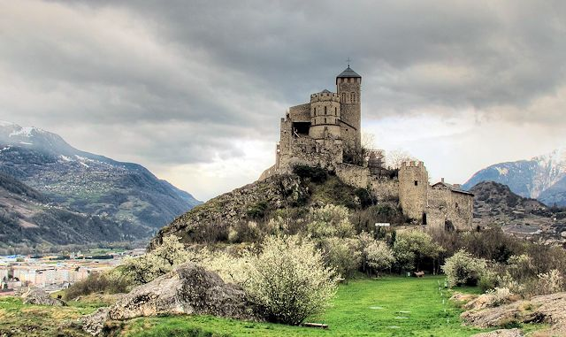 Sion - Castle of Valère