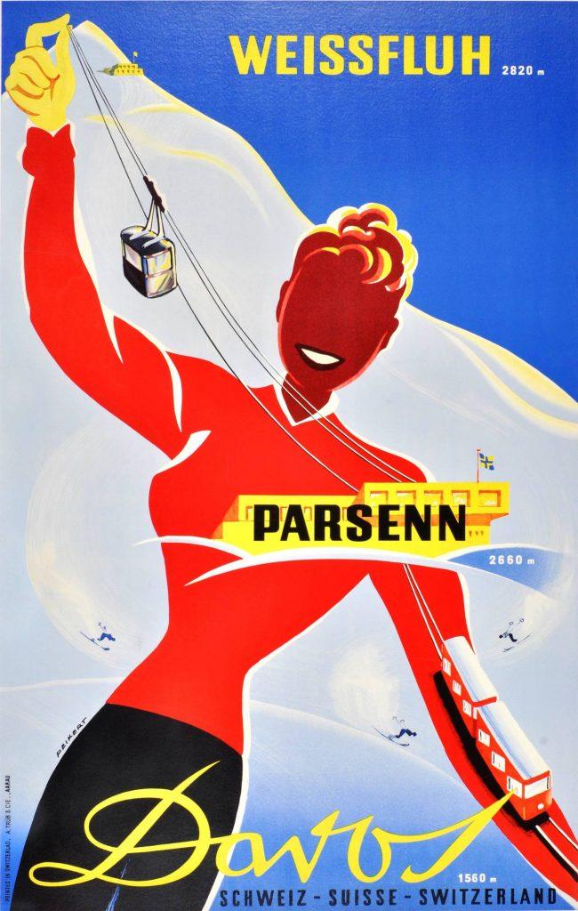 Davos Parsenn - Walter Peikert 1938