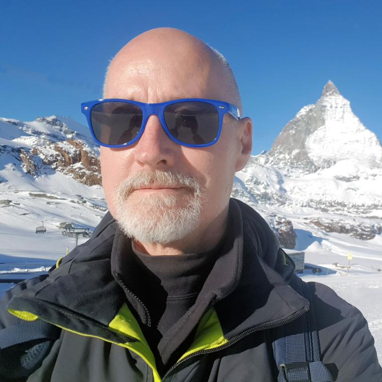 Nic Oatridge in Zermatt
