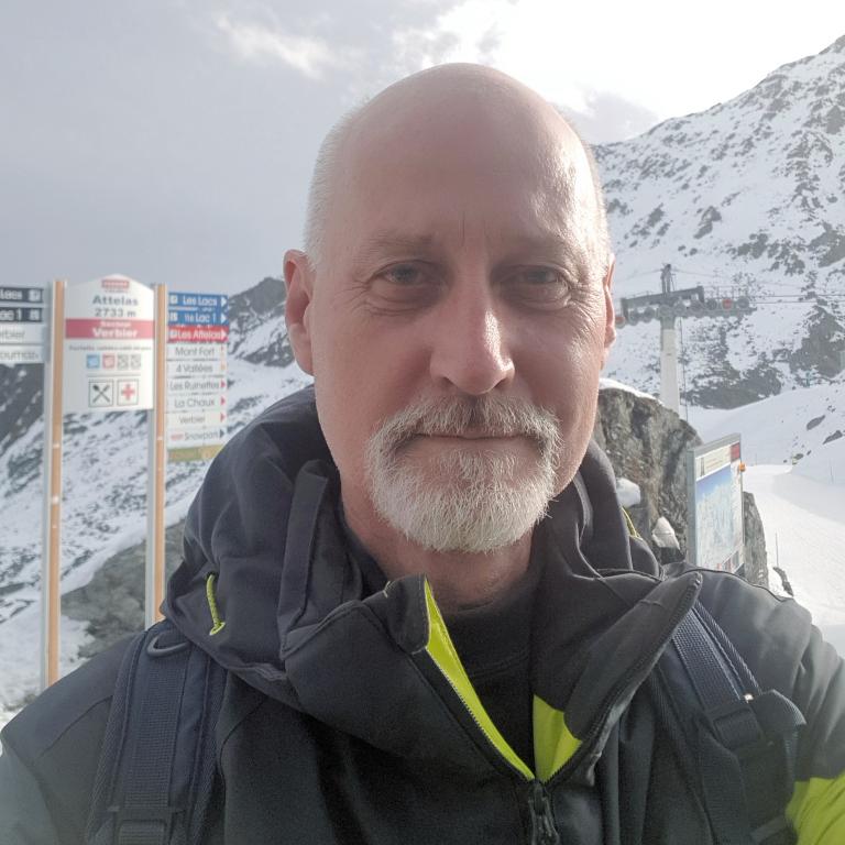 Nic Oatridge skiing Verbier and Zermatt