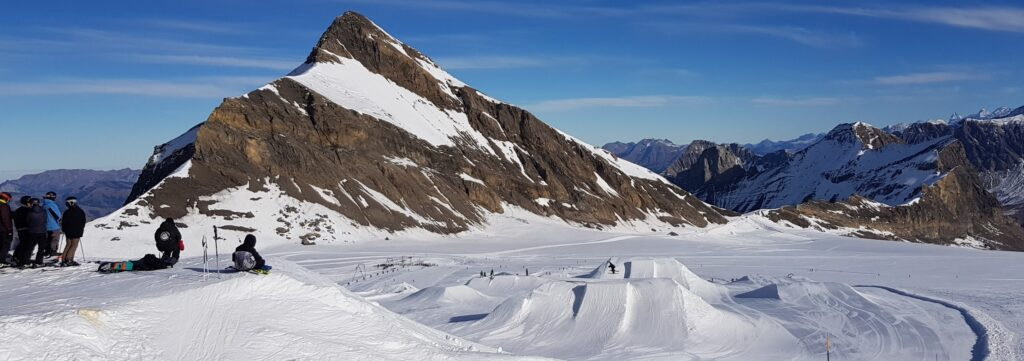 Snow Park at Glacier 3000
