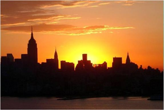 Daybreak New York (c) Nic Oatridge 2007