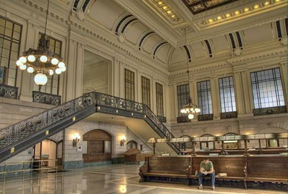 Hoboken Station Waiting Room (c) Nic Oatridge 2007