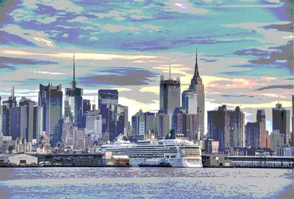 Solarized Manhattan (c) Nic Oatridge 2007