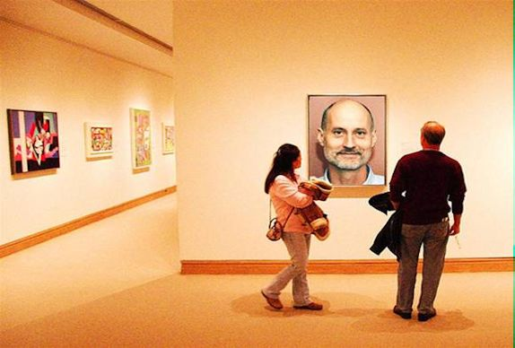 Me in the Met (c) Nic Oatridge 2007